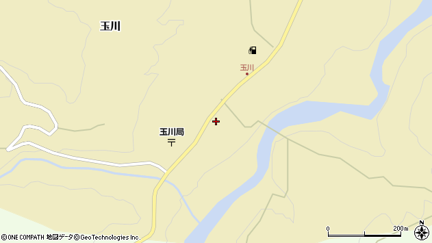 山形県西置賜郡小国町玉川46周辺の地図