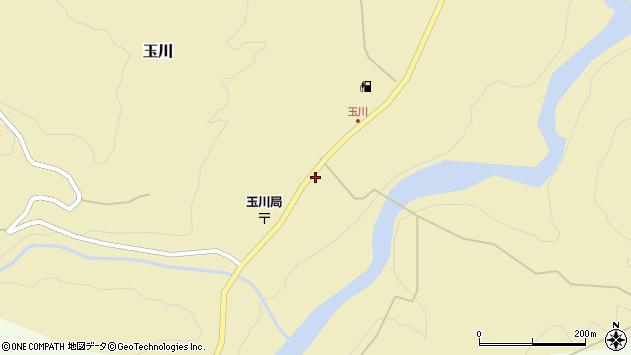 山形県西置賜郡小国町玉川48周辺の地図