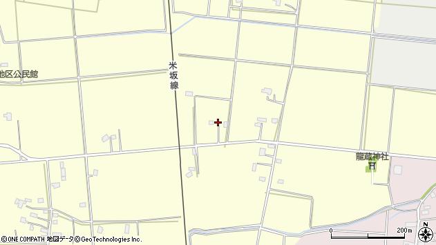 山形県東置賜郡川西町下小松1228周辺の地図