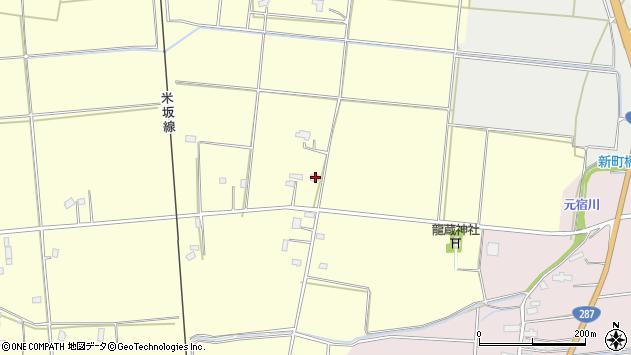 山形県東置賜郡川西町下小松1223周辺の地図