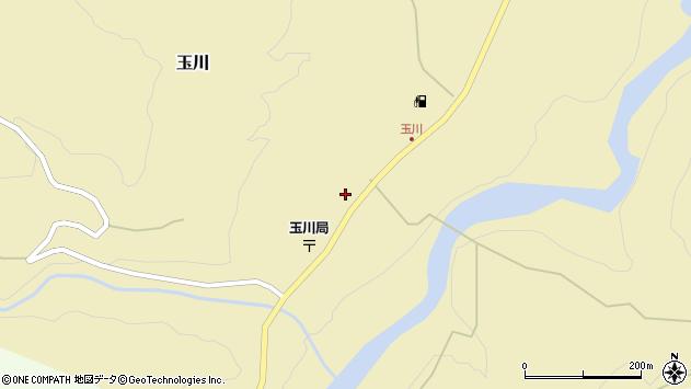 山形県西置賜郡小国町玉川313周辺の地図