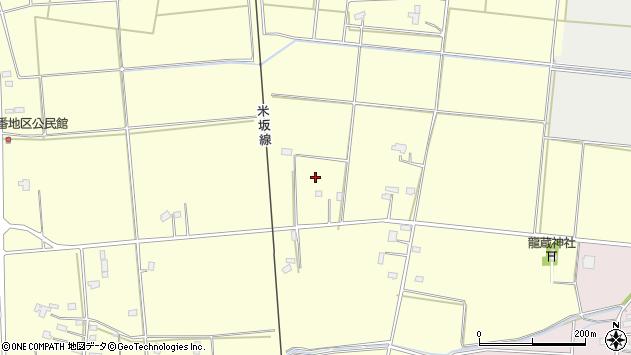 山形県東置賜郡川西町下小松他屋周辺の地図