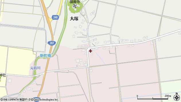 山形県東置賜郡川西町小松1292周辺の地図