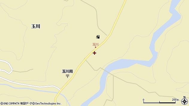 山形県西置賜郡小国町玉川250周辺の地図