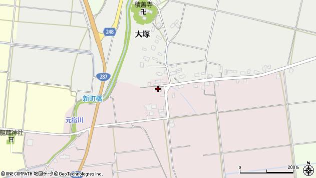 山形県東置賜郡川西町小松1298周辺の地図