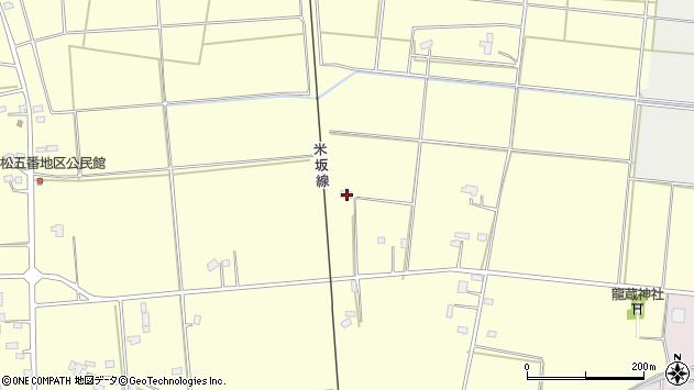 山形県東置賜郡川西町下小松1242周辺の地図