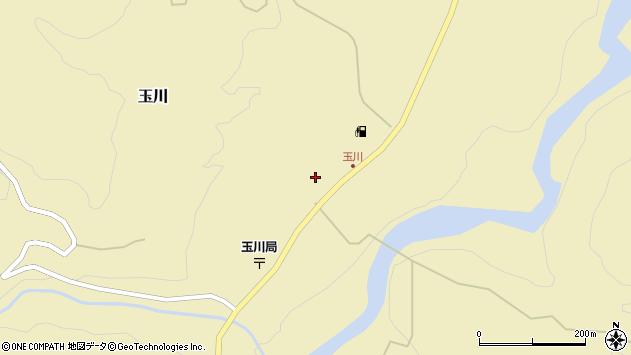 山形県西置賜郡小国町玉川357周辺の地図
