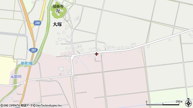 山形県東置賜郡川西町小松1274周辺の地図