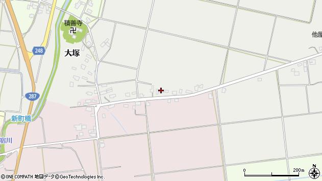 山形県東置賜郡川西町大塚2552周辺の地図
