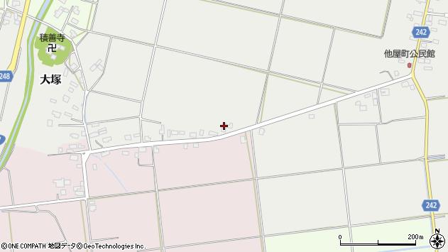 山形県東置賜郡川西町大塚2550周辺の地図