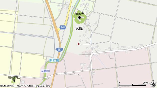 山形県東置賜郡川西町大塚2617周辺の地図