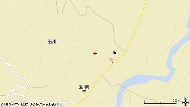 山形県西置賜郡小国町玉川337周辺の地図