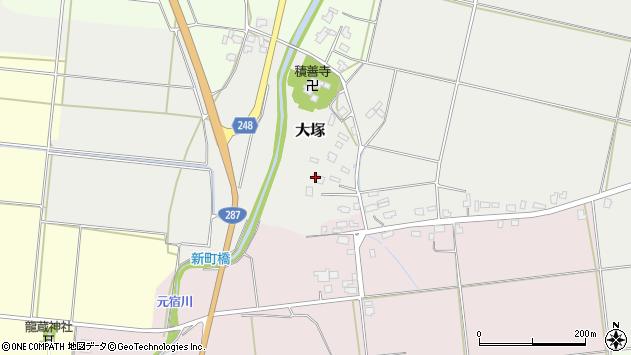 山形県東置賜郡川西町大塚2618周辺の地図