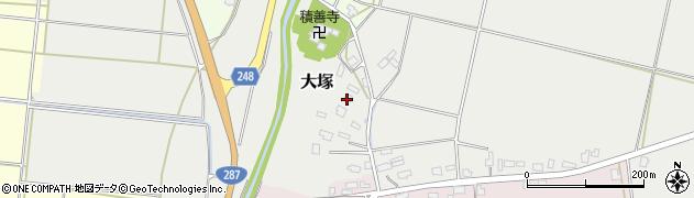 山形県東置賜郡川西町大塚2621周辺の地図