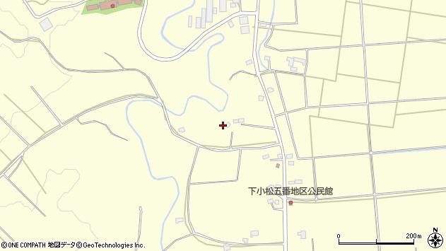 山形県東置賜郡川西町下小松1723周辺の地図