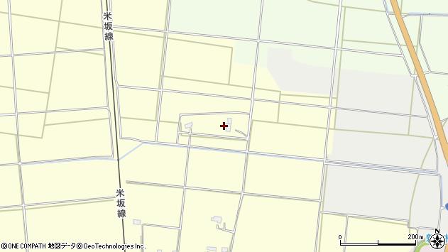 山形県東置賜郡川西町下小松1464周辺の地図