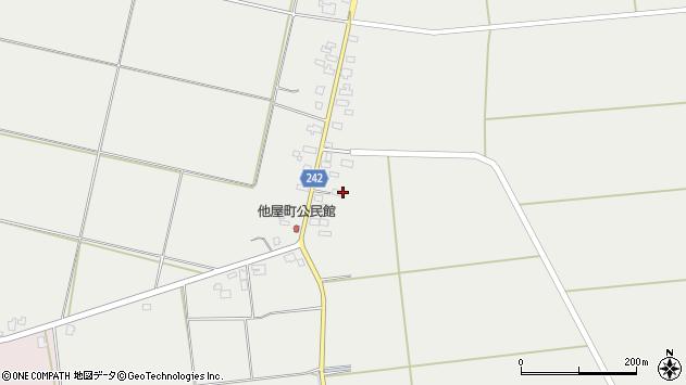山形県東置賜郡川西町大塚林崎周辺の地図