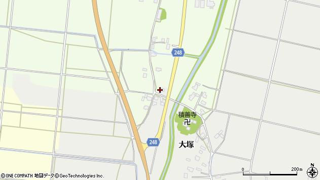 山形県東置賜郡川西町大塚2741周辺の地図