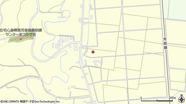 山形県東置賜郡川西町下小松箕ノ輪周辺の地図