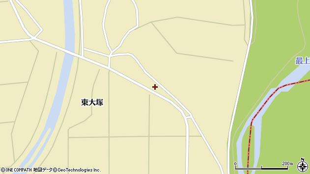 山形県東置賜郡川西町東大塚341周辺の地図