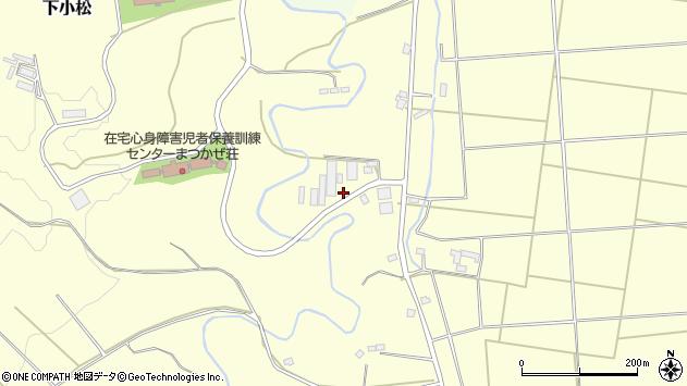 山形県東置賜郡川西町下小松1672周辺の地図