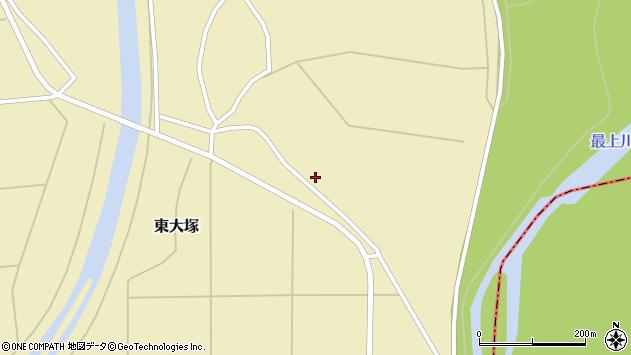 山形県東置賜郡川西町東大塚1869周辺の地図