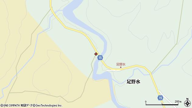 山形県西置賜郡小国町足野水325周辺の地図