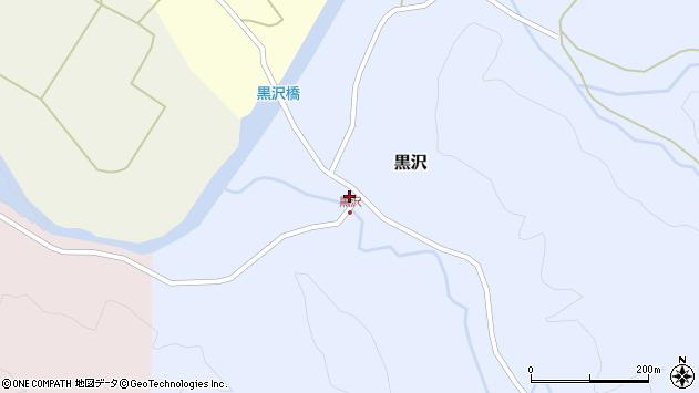 山形県西置賜郡小国町黒沢354周辺の地図