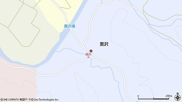 山形県西置賜郡小国町黒沢359周辺の地図