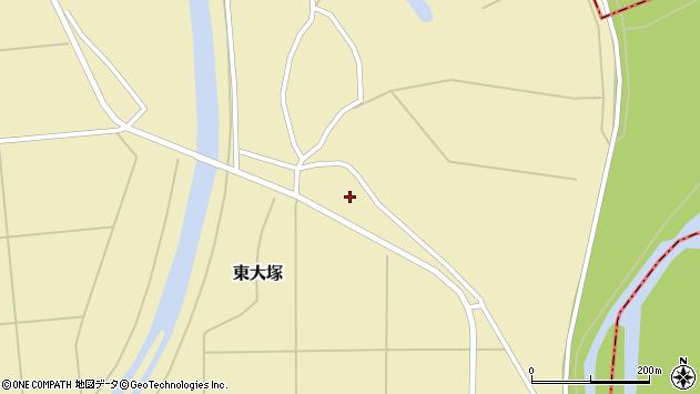 山形県東置賜郡川西町東大塚1898周辺の地図