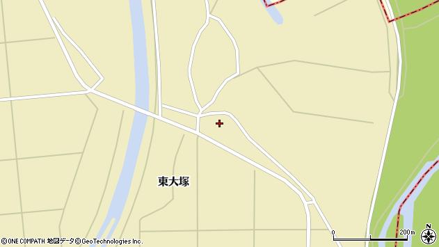 山形県東置賜郡川西町東大塚1910周辺の地図