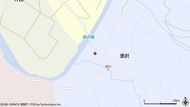 山形県西置賜郡小国町黒沢367周辺の地図