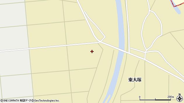 山形県東置賜郡川西町東大塚東他屋周辺の地図