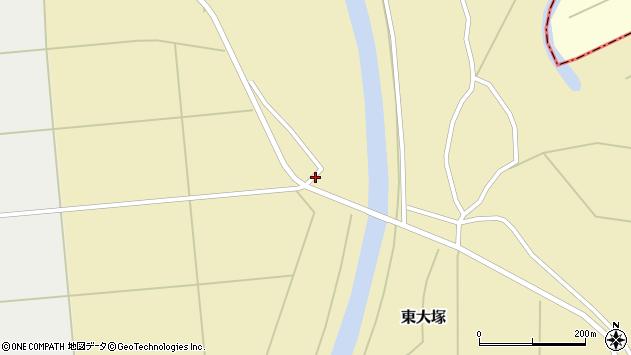 山形県東置賜郡川西町東大塚2805周辺の地図