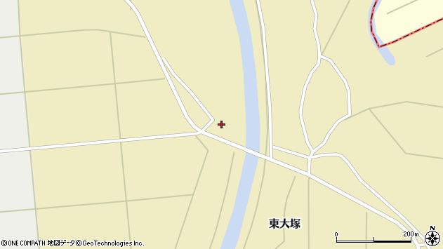 山形県東置賜郡川西町東大塚2801周辺の地図