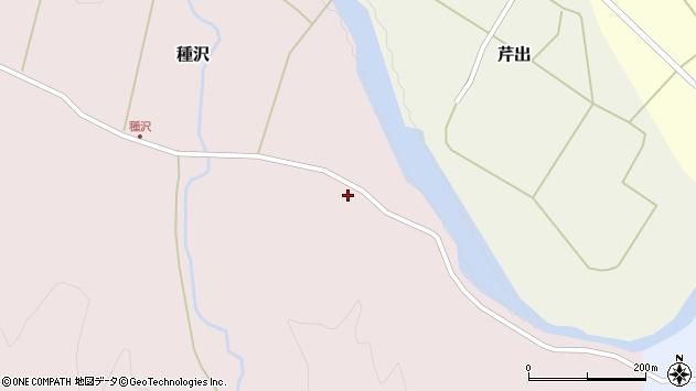 山形県西置賜郡小国町種沢94周辺の地図