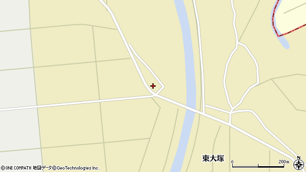 山形県東置賜郡川西町東大塚2818周辺の地図