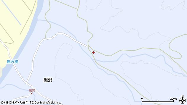 山形県西置賜郡小国町黒沢508周辺の地図