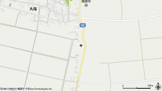 山形県東置賜郡川西町大塚1443周辺の地図