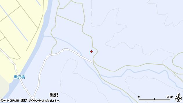 山形県西置賜郡小国町黒沢622周辺の地図