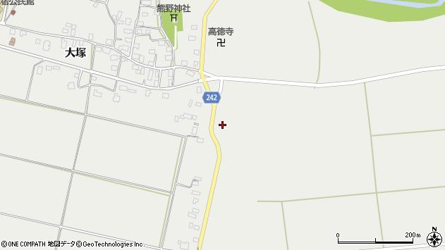 山形県東置賜郡川西町大塚1477周辺の地図