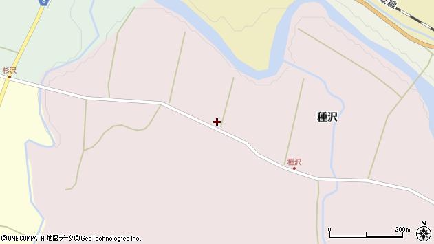 山形県西置賜郡小国町種沢561周辺の地図