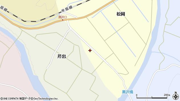 山形県西置賜郡小国町松岡101周辺の地図