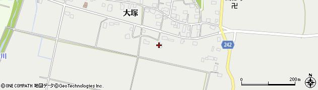 山形県東置賜郡川西町大塚2279周辺の地図
