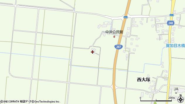山形県東置賜郡川西町西大塚661周辺の地図