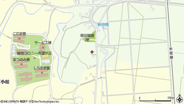 山形県東置賜郡川西町西大塚4322周辺の地図