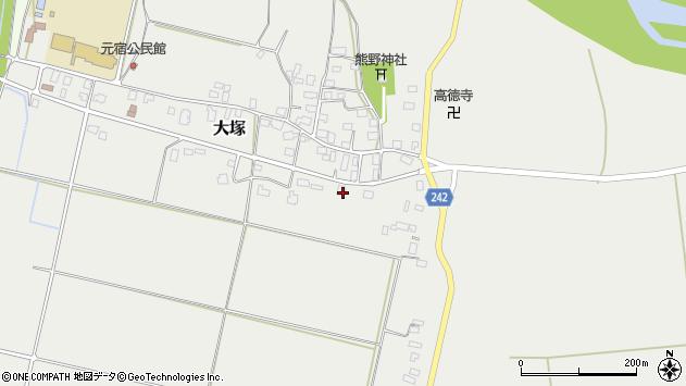 山形県東置賜郡川西町大塚2259周辺の地図