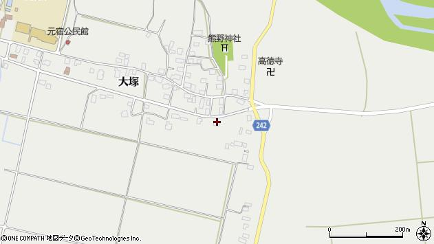 山形県東置賜郡川西町大塚2252周辺の地図