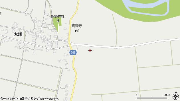 山形県東置賜郡川西町大塚1496周辺の地図