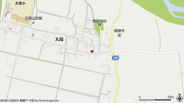 山形県東置賜郡川西町大塚2256周辺の地図